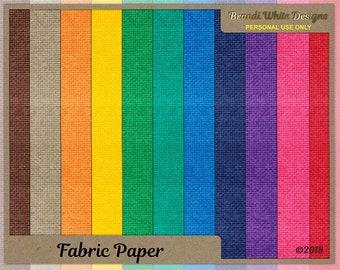 Digital Scrapbook Background Paper, Fabric Texture
