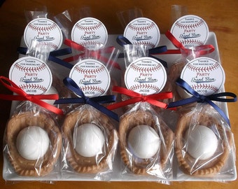 Baseball Party - Baseball Favors, Baseball Party Favors, Baseball Birthday Party, Baseball Party Decorations, Baseball Team Gift - Set of 20