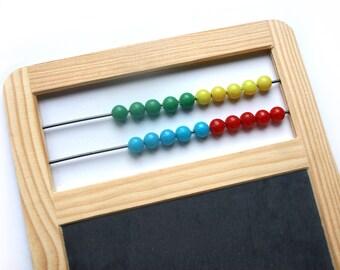 Slate Board with Abacus