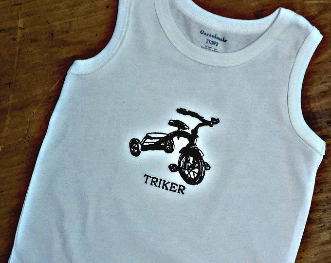 Embroidered Triker Toddler T-shirt