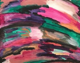 Improvise: Original Abstract Acrylic Painting