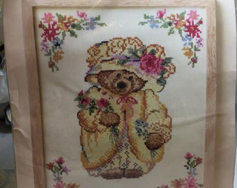 Hallmark Mary-Mary Bearworthy Counted Cross-stitch kit