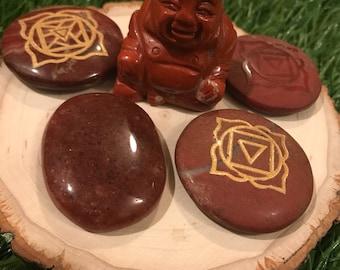 Root Chakra, Root Chakra Stone, Chakra Stones, Chakra, Gift Set, Reiki Stones, Reiki