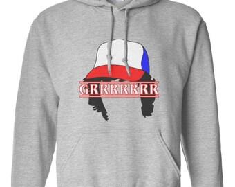 Grrrrrrr Dustin Unisex size sweater, Crewneck Sweatshirt