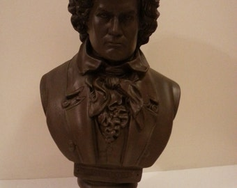Musical Composer Beethoven Statue - Has Been Repainted