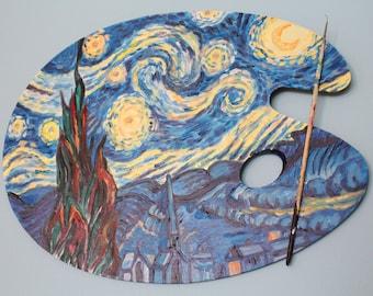 Starry Night painters Pallet original art work