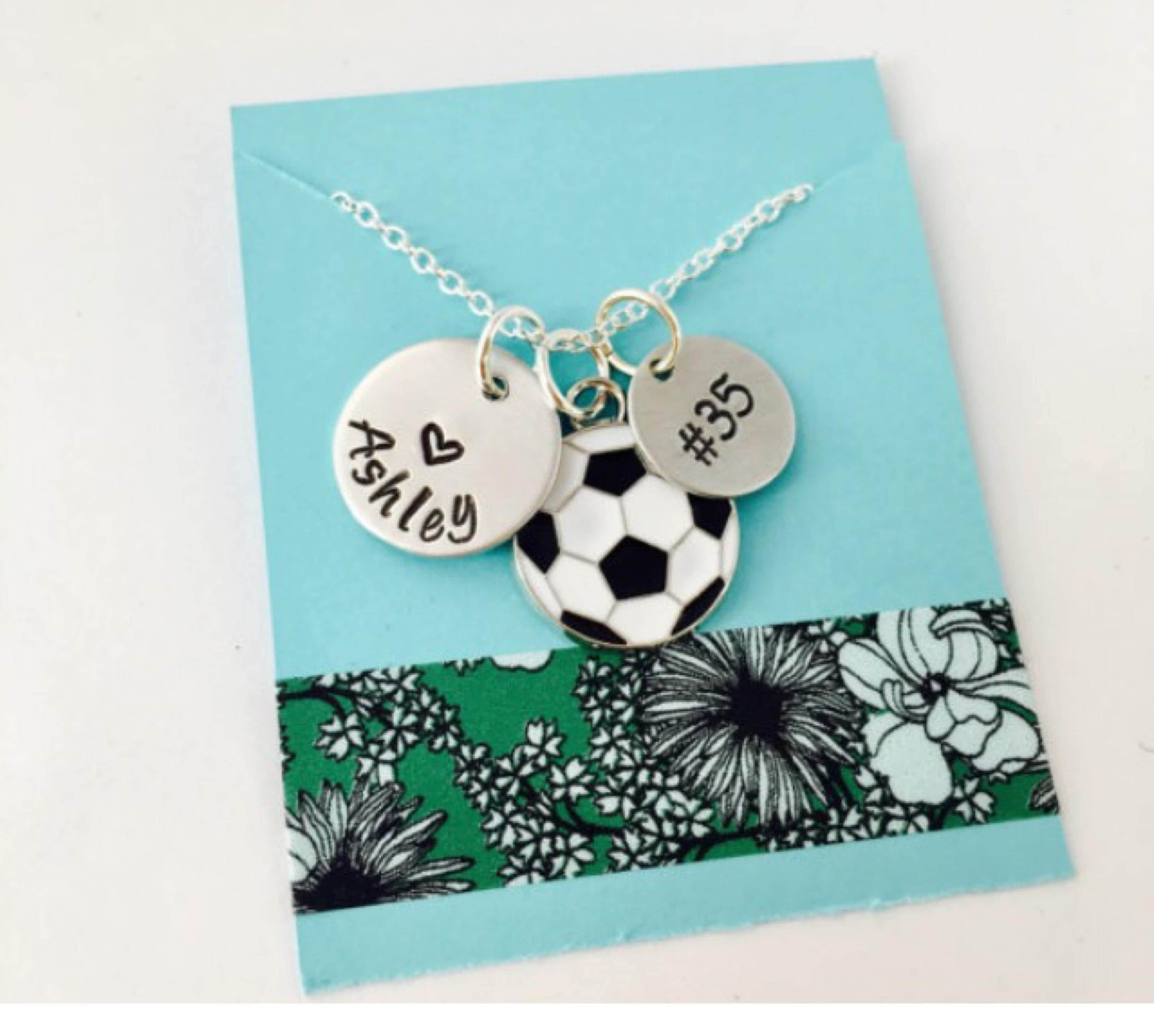 soccer silver jewellery personalized name charm pendant necklace sterling fancy ksvhs