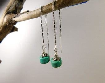 Turquoise threaders