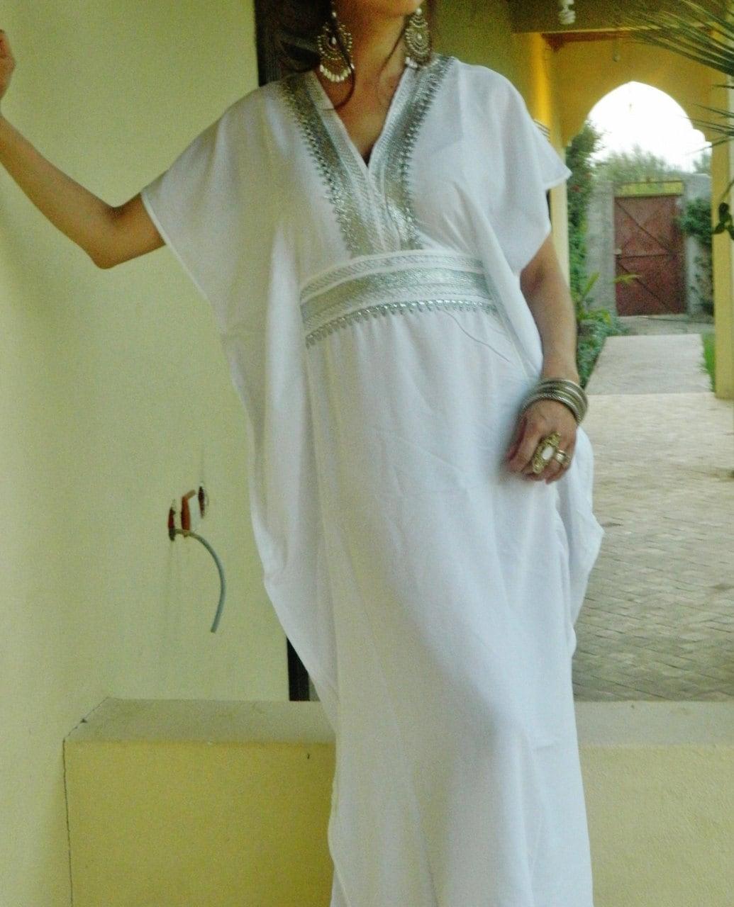 Caftan Kaftan Summer Dress-Luxury loungewear, as resortwear,spa robe ...