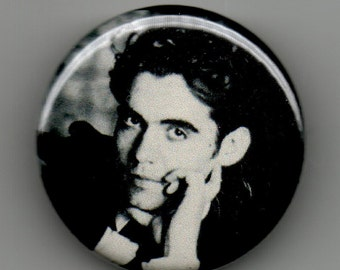 Federico Garcia Lorca Playwright Portrait 1.25 inch Button