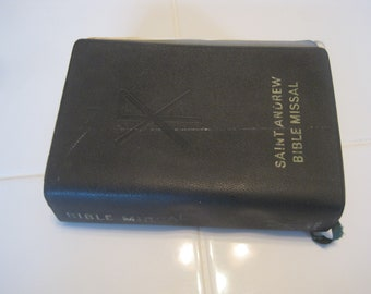 Saint Andrew Bible Missal Book 1962
