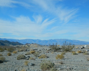 Death Valley, CA Scenic Overlook- Mountain Photography, Landscape Print, Download Digital Picture