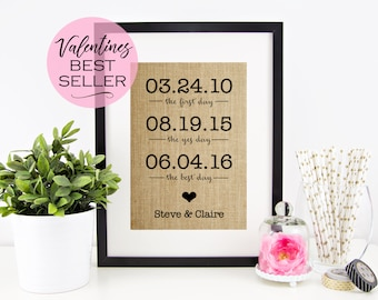 Valentines Day Gift For Him Personalized Gift for Husband Gift Personalized Valentines Day Gift for Wife Gift for Her Anniversary Gift Ideas