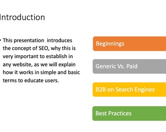 PowerPoint Search Optimization Presentation for Marketing and Promotion