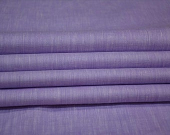 Orchid Violet Linen Fabric By The Yard