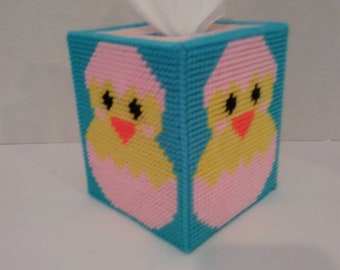 Baby Chick Easter Tissue Box Cover