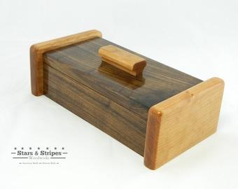 Walnut & Cherry Keepsake Box