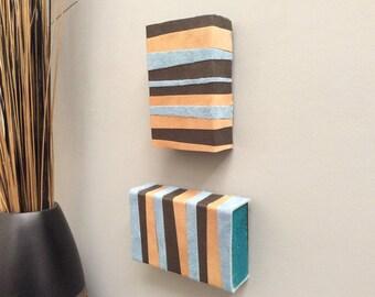 Modern, Original, Handmade Wall Art (Set of 2)