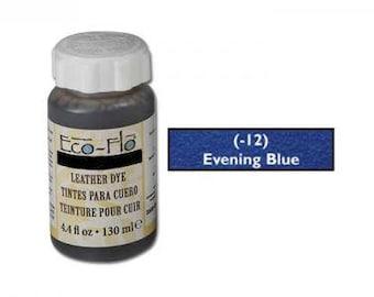 Eco-Flo Leather Dye 4.4 fl. oz, (132 ml) Evening Blue