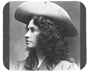 Mouse Pad; Annie Oakley