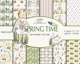 Spring time paper