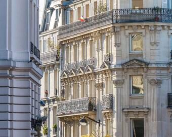 Paris Photography - Classic Paris Architecture, Fine Art Travel Photograph, Paris Decor, Gallery Wall, Paris Art Print, Large Wall Art