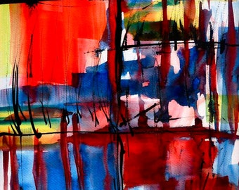 abstract prints, modern art print