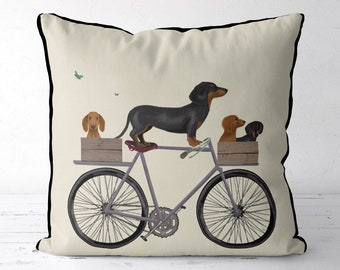Dachshund pillow cover dachshund gift idea dog lover gift doxie gift idea dachshund owner gift dog pillow gift for dog owner Housewarming