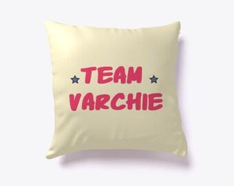 Team Varchie Throw Pillow
