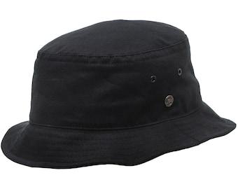 GOLF - Bucket Fishing Golf Cotton Hat - black