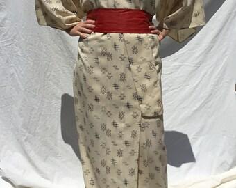 Vintage SIESTA Robe geometric pattern 1970s size XL oYTvKaL