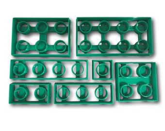 Playing Bricks Cookie Cutter Set