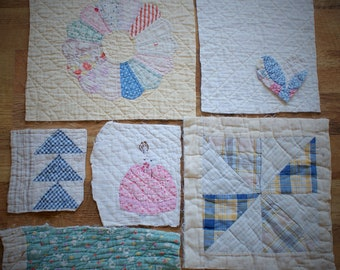 Cutter Quilt Pieces