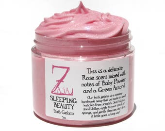 Sleeping Beauty Bath Gelato Cream Soap 4 oz