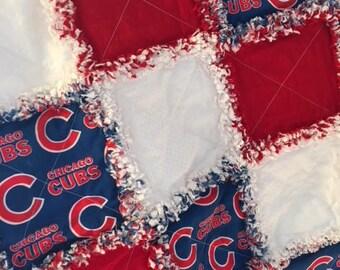 Chicago Cubs Child Rag Quilt