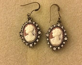 Victorian Portrait Earrings