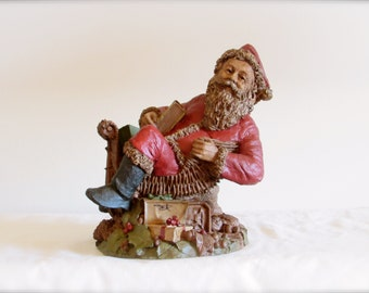 Santa Claus II Tom Clark Figurine, Cairn Santa Figurine, Vintage Christmas Collectible, Christmas Decor