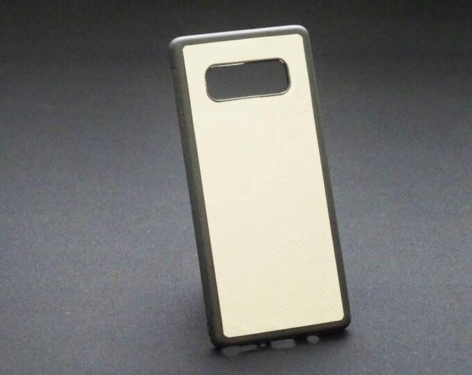 Samsung Galaxy Note 8 - Jimmy Case in Satin Tan - Kangaroo leather - Handmade - James Watson