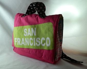 """""""SAN FRANCISCO"""" - unique nursery satchel"""