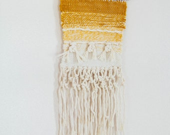 Yellow Woven Tapestry