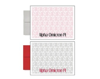 Alpha Omicron Pi Postcards - Sorority