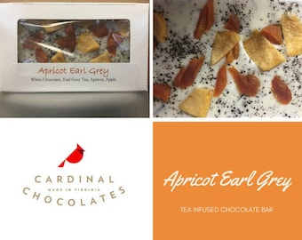 Apricot Earl Grey Tea Chocolate Bar