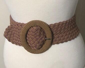 Women's Belts, Women's Accessories, Stretch Belt, Tunic Belt, Big Buckle Belt, Braid Belt, Gift For her
