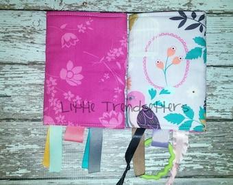 Birdcage Floral Drool Pads