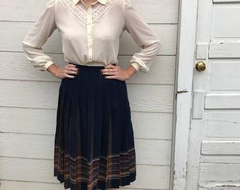 Vintage Pendelton Wool Skirt