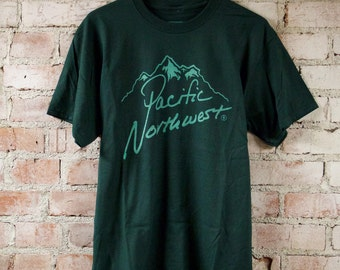 Pacific Northwest Classic PNW Mountains Tee