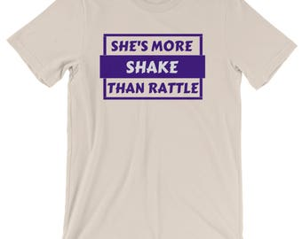 More Shake Than Rattle - Womens Soft Cream