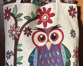 Pretty Punky Owl Tote