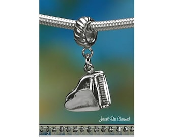 Sterling Silver Grand Piano Charm or European Style Charm Bracelet 925