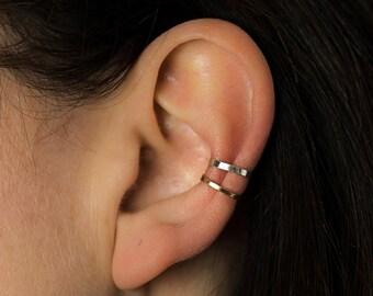 Skinny Hammered Ear Cuff - Ear Cuff - Rose Gold Ear Cuff - Silver Ear Cuff - Gold Ear Cuff- Ear Cuffs- Handmade Ear Cuffs